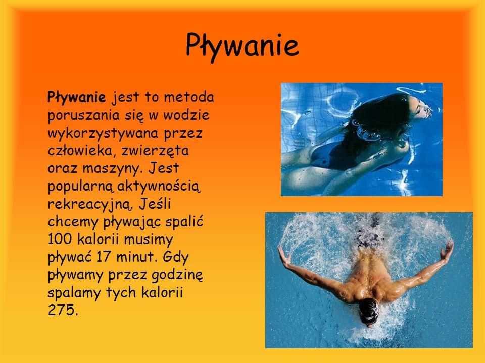 Pływanie Pływanie jest to metoda poruszania się w wodzie wykorzystywana przez człowieka, zwierzęta oraz maszyny. Jest popularną aktywnością rekreacyjn