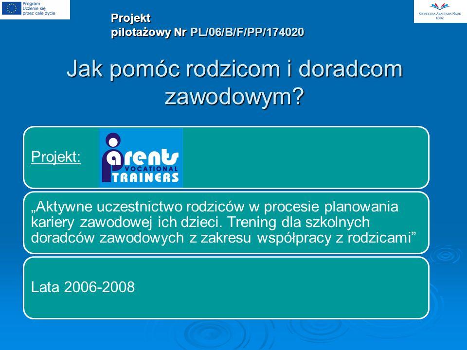 Partnerzy projektu 1.Społeczna Akademia Nauk - Polska2.