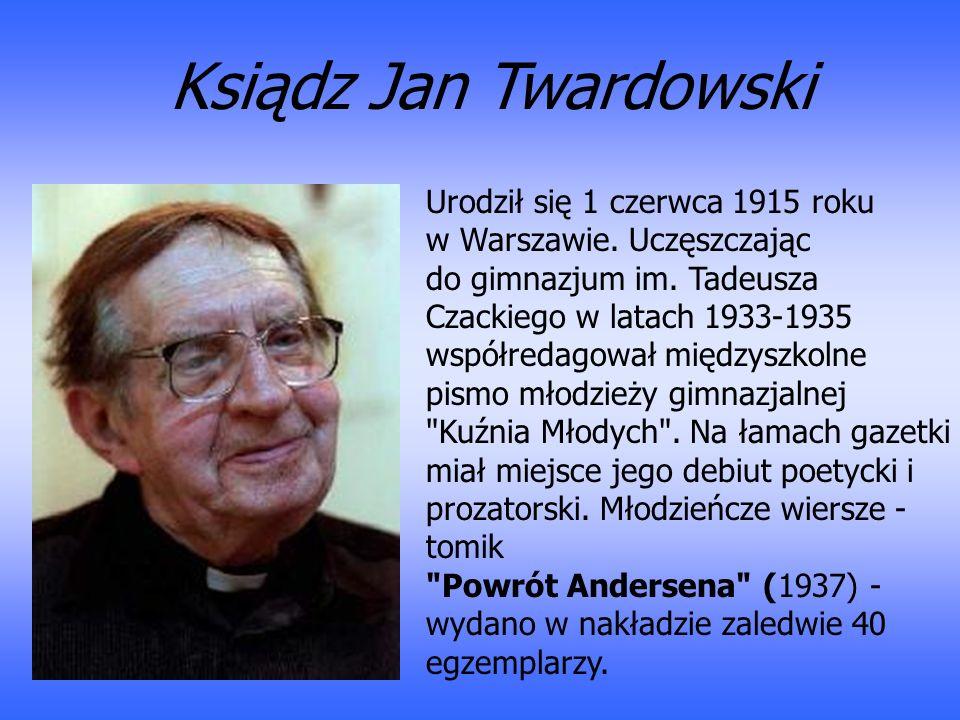 Urodził się 1 czerwca 1915 roku w Warszawie. Uczęszczając do gimnazjum im. Tadeusza Czackiego w latach 1933-1935 współredagował międzyszkolne pismo mł