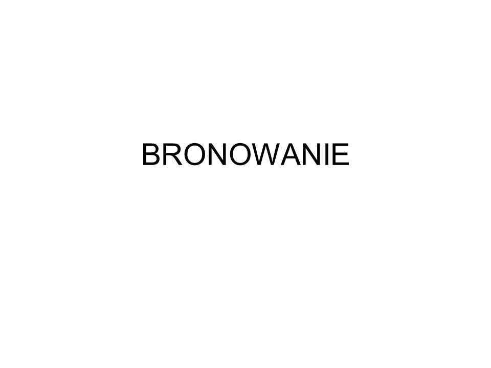 BRONOWANIE