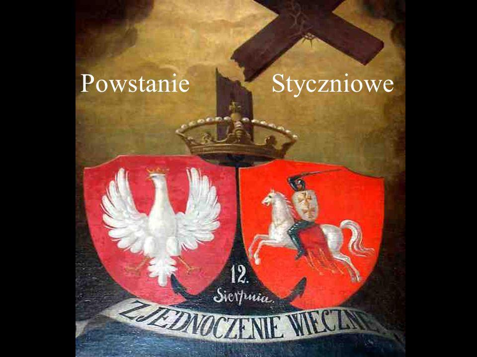 Polonia 1863 - Obrona dworu Artur Grottger