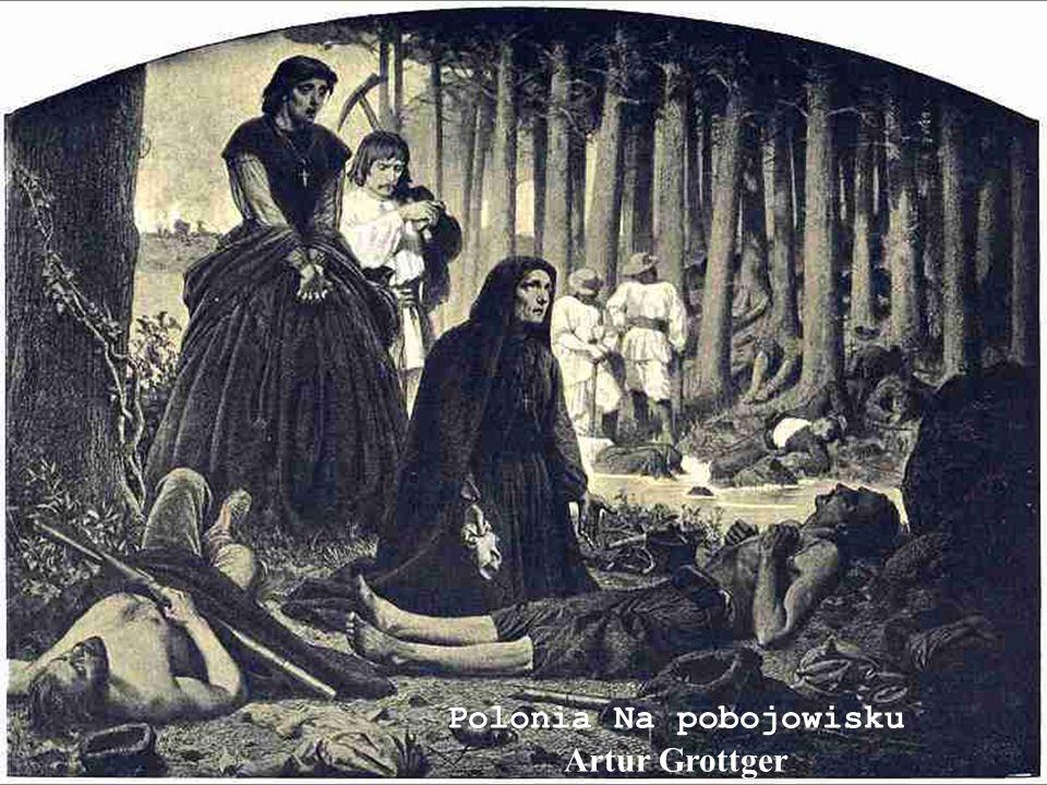 Polonia Na pobojowisku Artur Grottger