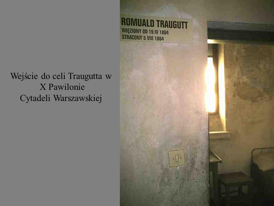 Wejście do celi Traugutta w X Pawilonie Cytadeli Warszawskiej