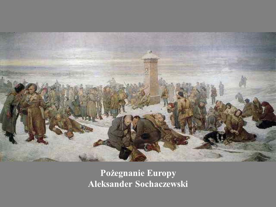 Pożegnanie Europy Aleksander Sochaczewski