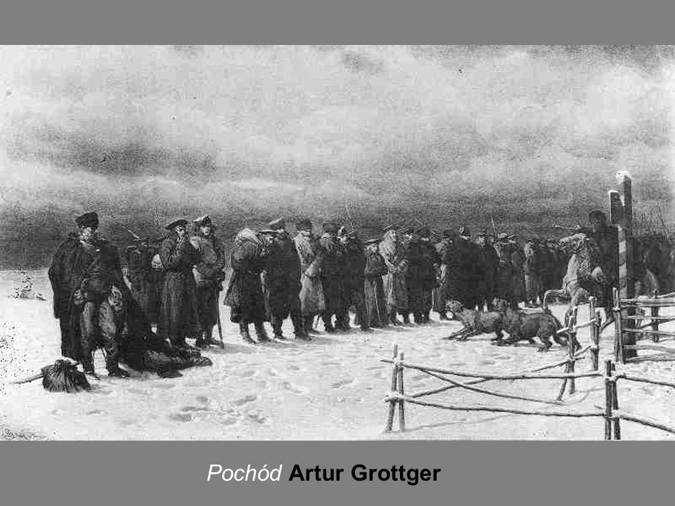 Pochód Artur Grottger