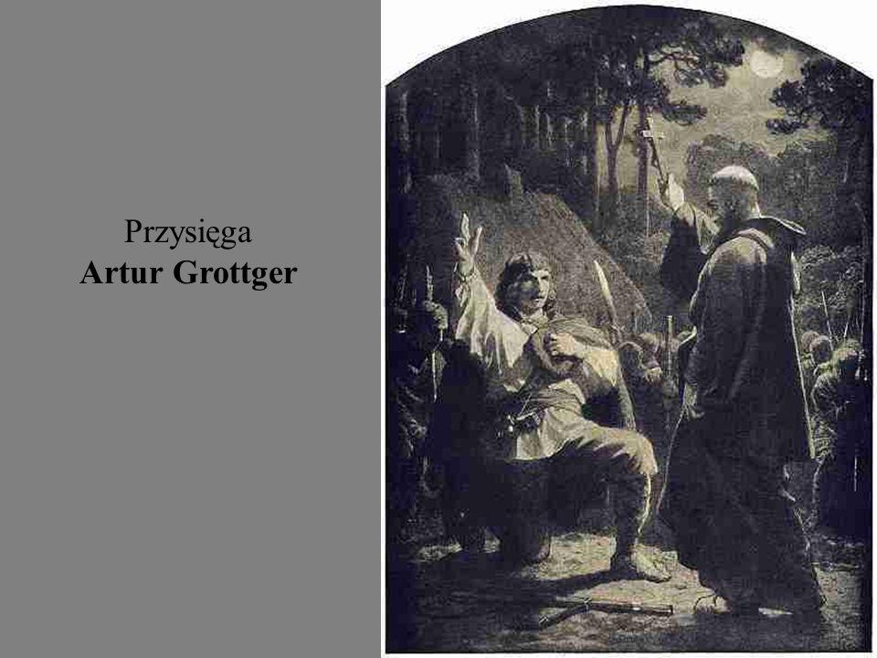 Wojna - Głód Artur Grottger