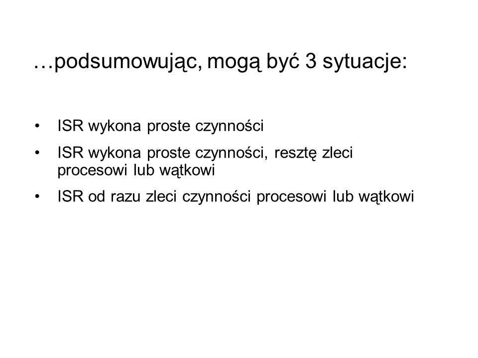int pid,i,res,status,test; test=1234; char buf[10]; res = spawnl(P_WAIT, /mnt/tmp2/spawnl2/x86/o/spawnl2 , spawnl2 , 10 ,NULL); //res = spawnl(P_OVERLAY, /mnt/tmp2/spawnl2/x86/o/spawnl2 , spawnl2 , 10 ,NULL); // res = spawnl(P_NOWAIT, /mnt/tmp2/spawnl2/x86/o/spawnl2 , spawnl2 , 10 ,NULL); if(res < 0) { perror( SPAWN ); exit(0); } for(i=1;i < 10;i++) { printf( Macierzysty - krok %d \n ,i); sleep(1); } pid = wait(status); printf( Proces %d zakonczony, status %d\n ,pid,status); Potomny krok: 1 Potomny krok: 2 Potomny krok: 3 Potomny krok: 4 Potomny krok: 5 Potomny krok: 6 Potomny krok: 7 Potomny krok: 8 Potomny krok: 9 Potomny krok: 10 Potomny test: 0 Macierzysty - krok 1 Macierzysty - krok 2 Macierzysty - krok 3 Macierzysty - krok 4 Macierzysty - krok 5 Macierzysty - krok 6 Macierzysty - krok 7 Macierzysty - krok 8 Macierzysty - krok 9 Proces -1 zakonczony, status 0 int id, i,status,test ; for(i=1;i <= atoi(argv[1]);i++) { printf( Potomny krok: %d \n ,i); sleep(1); } printf( Potomny test: %d \n ,test); exit(i);