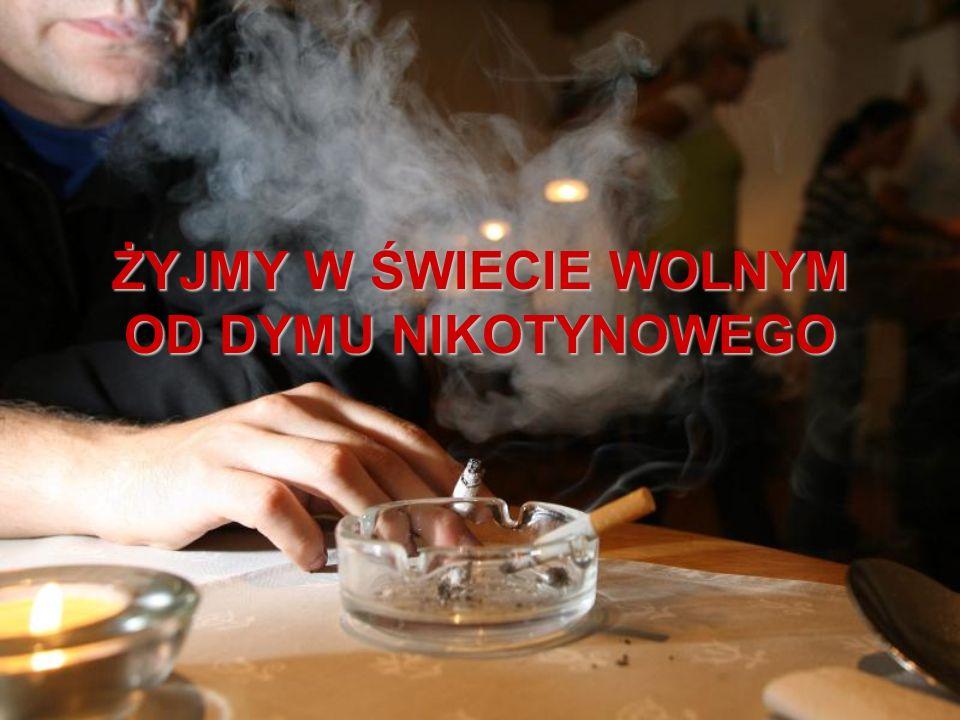 Obecnie znanych jest około 5000 składników, które występują w dymie tytoniowym !