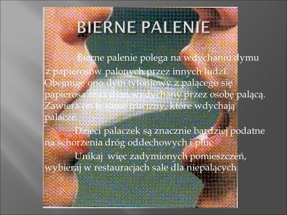 płuc, jamy ustnej, gardła, przełyku i krtani, pęcherza moczowego, trzustki, nerek, prawdopodobnie szyjki macicy i żołądka