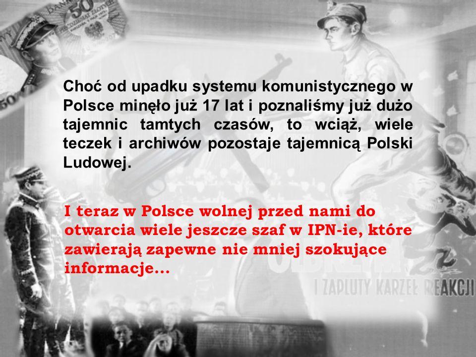 IMIĘ: NAZWISKO: URODZONY: a czas spędzony na północy ZSRR uczynił go podatnym na sugestie czołowych komunistów. Polski działacz ruchu ludowego, rolnik
