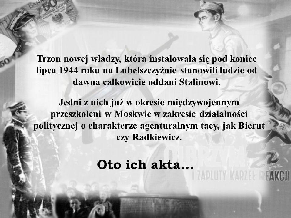 IMIĘ: NAZWISKO: URODZONY: PSEUDONIM: Po powstaniu Polskiej Zjednoczonej Partii Robotniczej w grudniu 1948 odsunięty od władzy.
