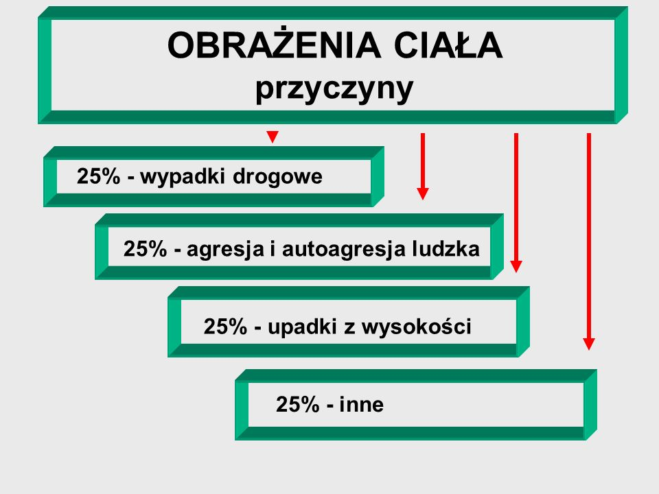 W Polsce w wypadkach komunikacyjnych ginie rocznie 6000 osób rannych zostaje ok. 40 000