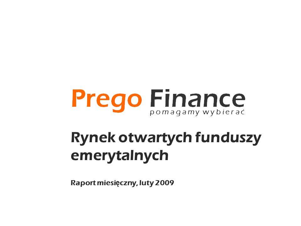 Rynek otwartych funduszy emerytalnych Raport miesi ę czny, luty 2009