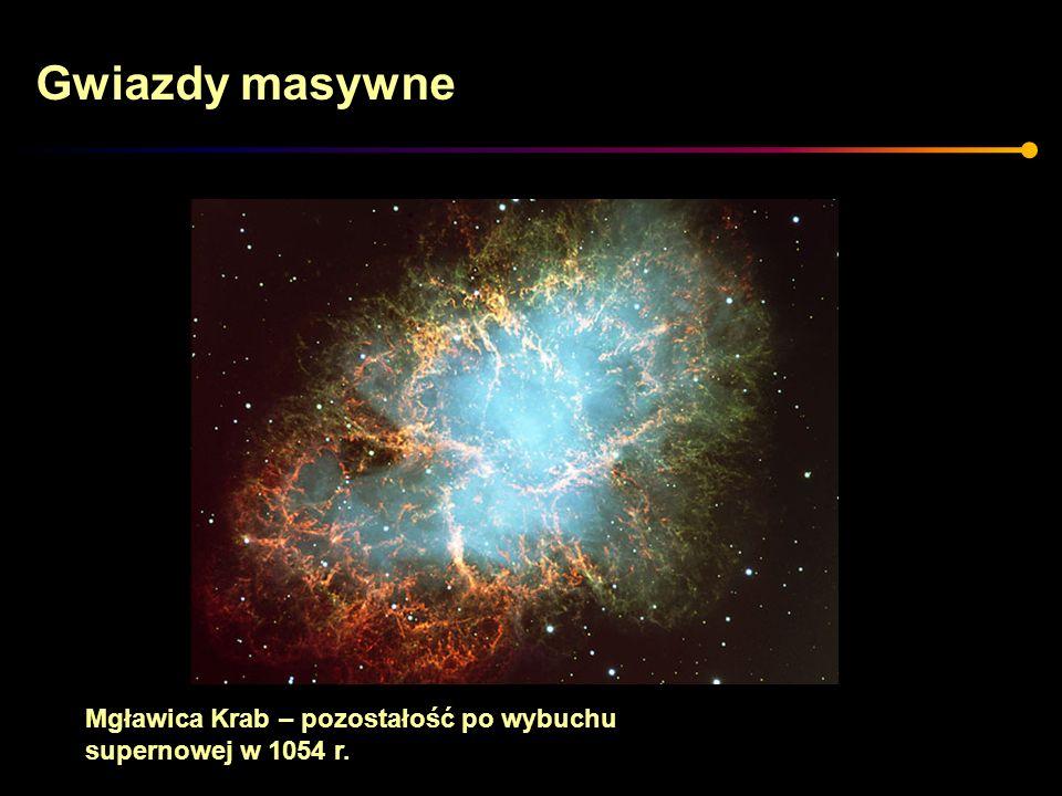 Mgławica Krab – pozostałość po wybuchu supernowej w 1054 r.