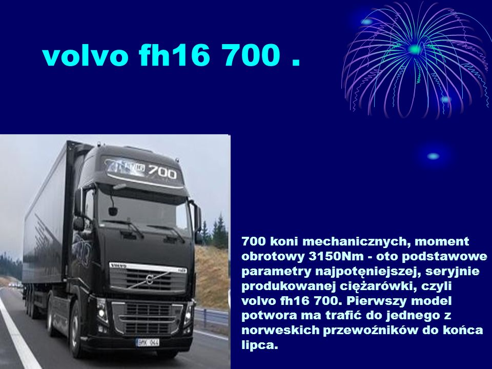 volvo fh16 700.