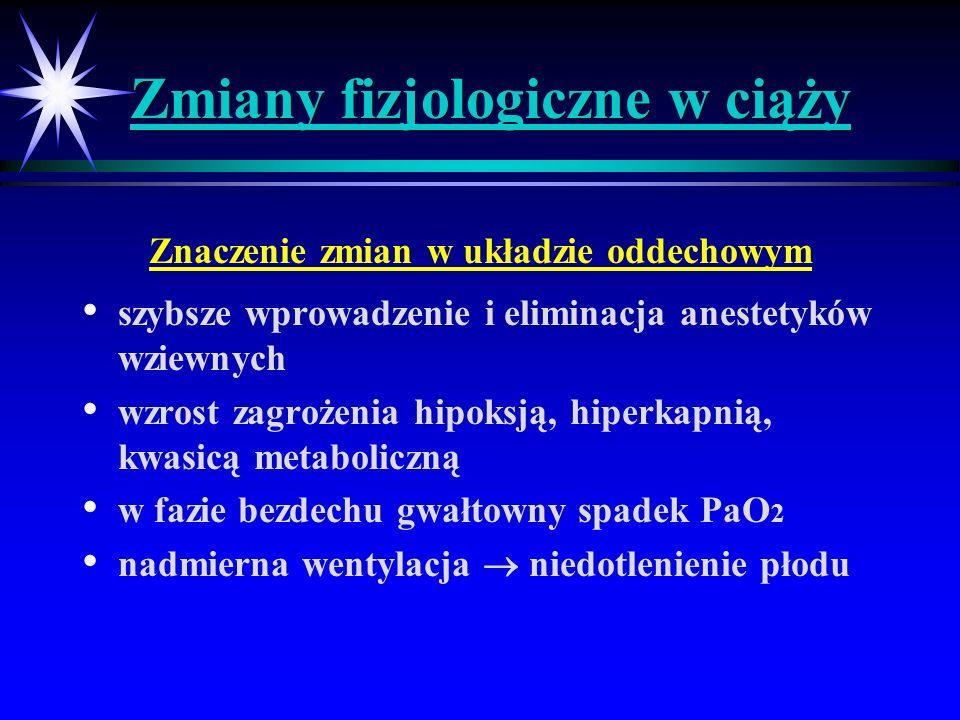 Znieczulenie pacjentki obciążonej cukrzycą c.d.
