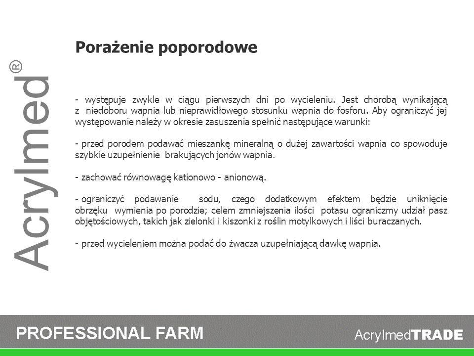 Acrylmed ® FosFARM FosFARM jest płynnym dodatkiem paszowym dla bydła mlecznego.