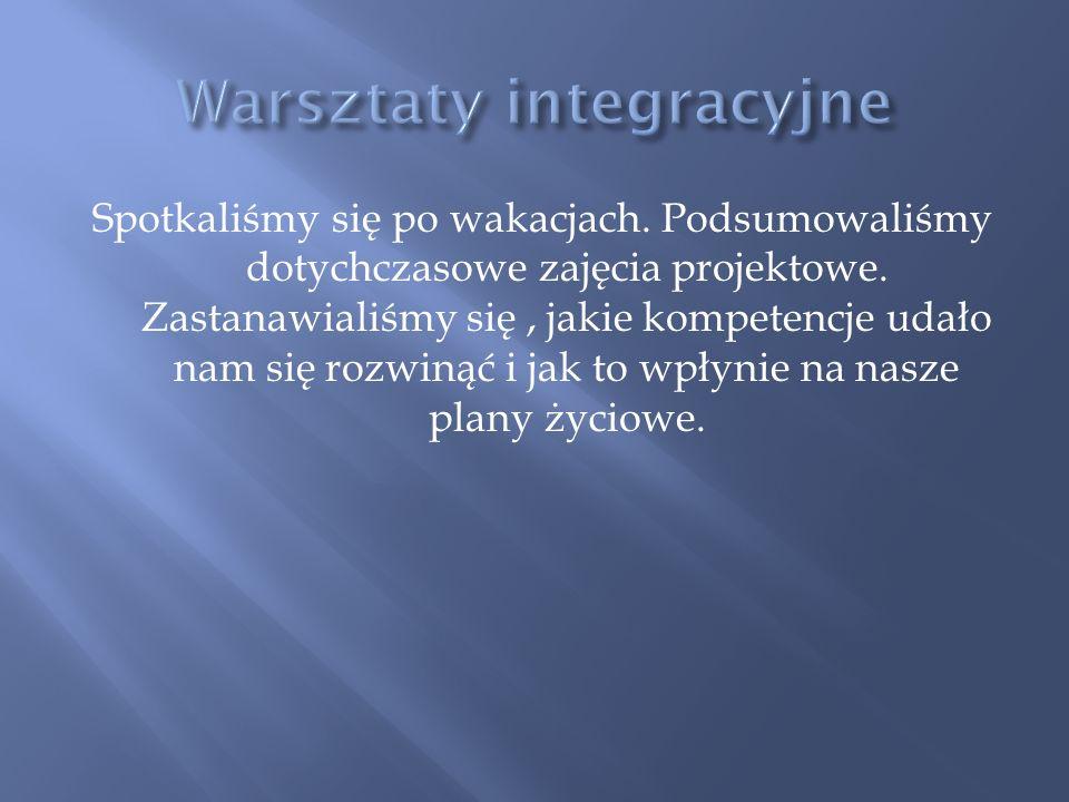 Uczestnicy: Katarzyna Kroll Dominik Błaszków Ewelina Brodecka Maja Kucharska