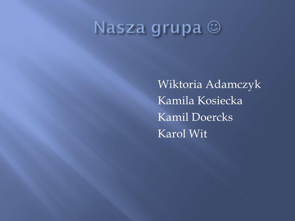Wiktoria Adamczyk Kamila Kosiecka Kamil Doercks Karol Wit