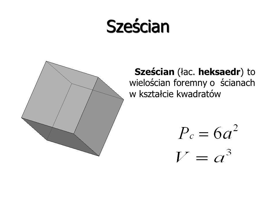 Czworościan foremny (łac. tetraedr) to wielościan foremny o czterech ścianach w kształcie identycznych trójkątów równobocznych