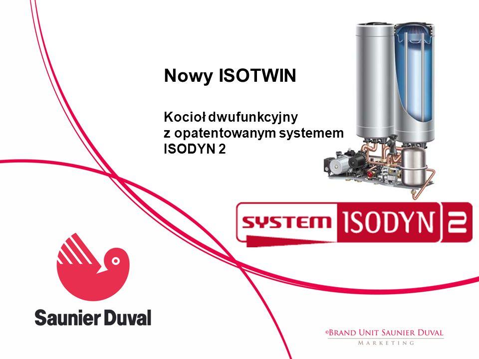 Nowy ISOTWIN Kocioł dwufunkcyjny z opatentowanym systemem ISODYN 2