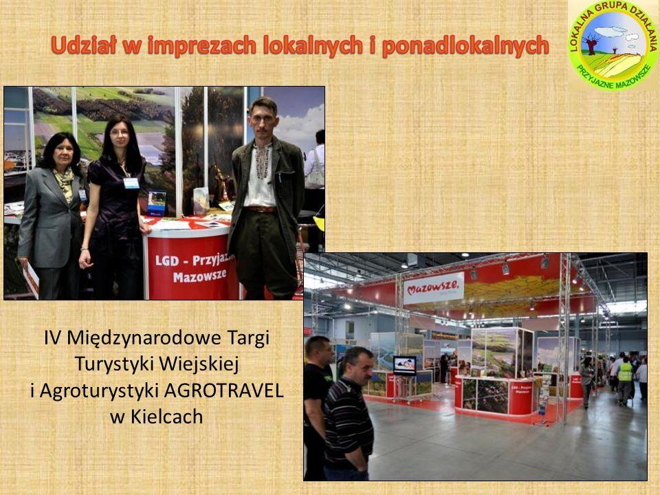IV Międzynarodowe Targi Turystyki Wiejskiej i Agroturystyki AGROTRAVEL w Kielcach