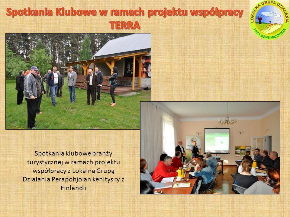 Spotkania klubowe branży turystycznej w ramach projektu współpracy z Lokalną Grupą Działania Perapohjolan kehitys ry z Finlandii