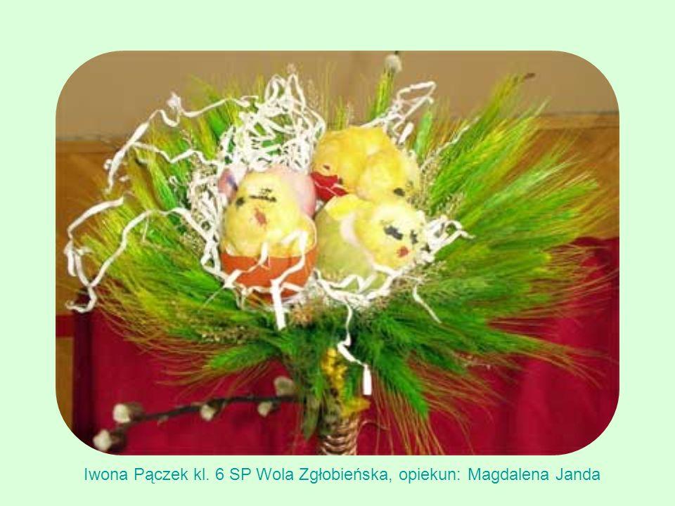 Iwona Pączek kl. 6 SP Wola Zgłobieńska, opiekun: Magdalena Janda