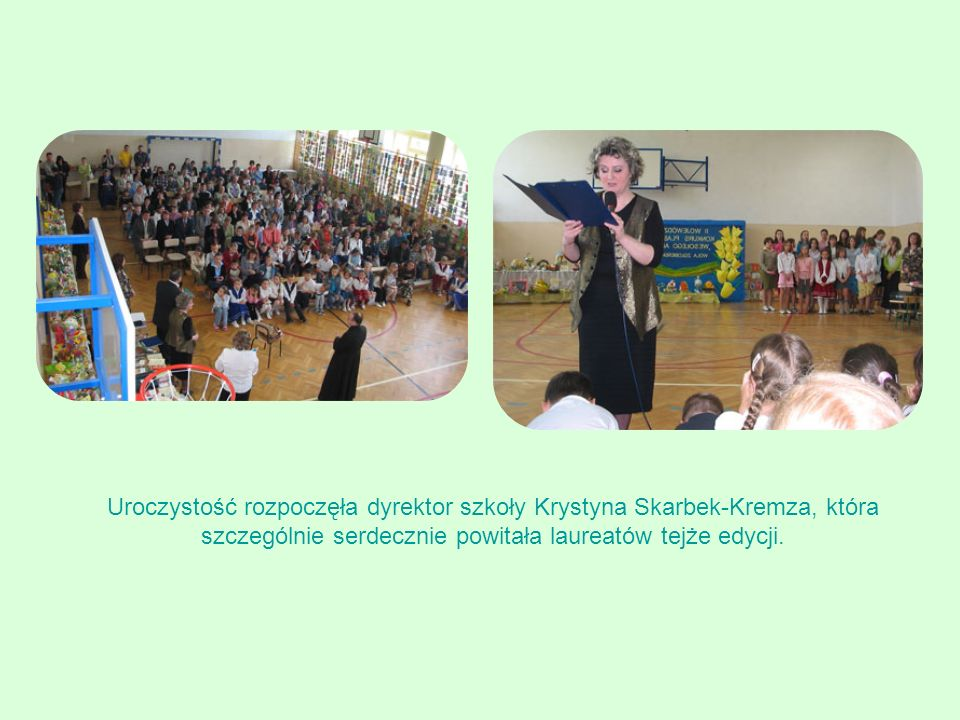 Aleksandra Blok kl. 6 SP Kańczuga, opiekun: Agnieszka Pączka