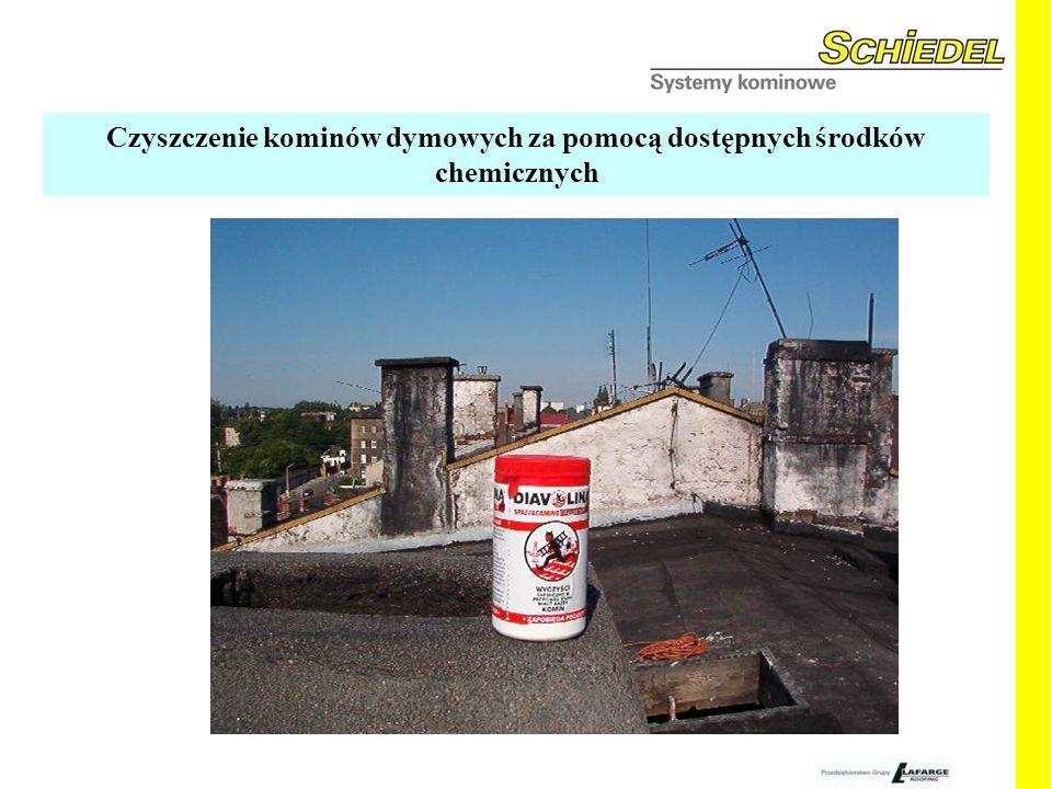 Czyszczenie kominów dymowych za pomocą dostępnych środków chemicznych