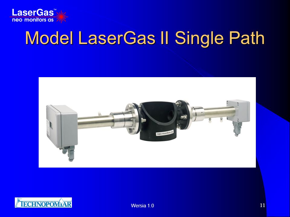 Wersia 1.0 11 Model LaserGas II Single Path