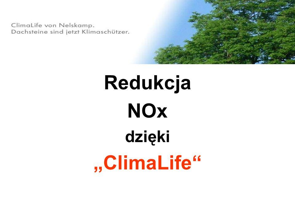 Dzięki powierzchniom ClimaLife przyczyniają się Państwo w istotny sposób do ochrony powietrza przed zanieczyszczeniami!