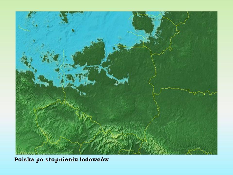 Polska po stopnieniu lodowców