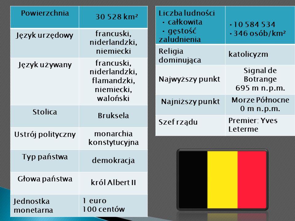 Belgia jest państwem federacyjnym.