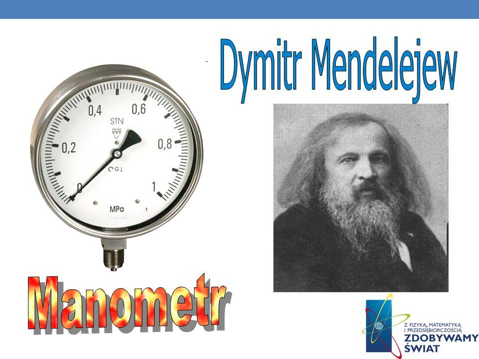 Manometr (ciśnieniomierz) jest miernikiem służącym do pomiaru ciśnienia cieczy i gazów. Ze względu na wskazywane ciśnienie dzieli się je na : - względ