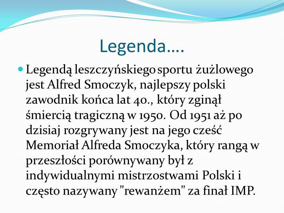 Legenda….