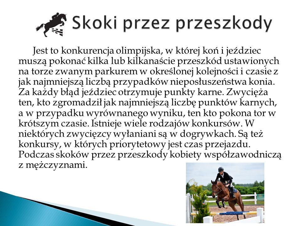 To konkurencja jeździecka w stylu westernowym polegająca na jak najdokładniejszym przejechaniu schematu.