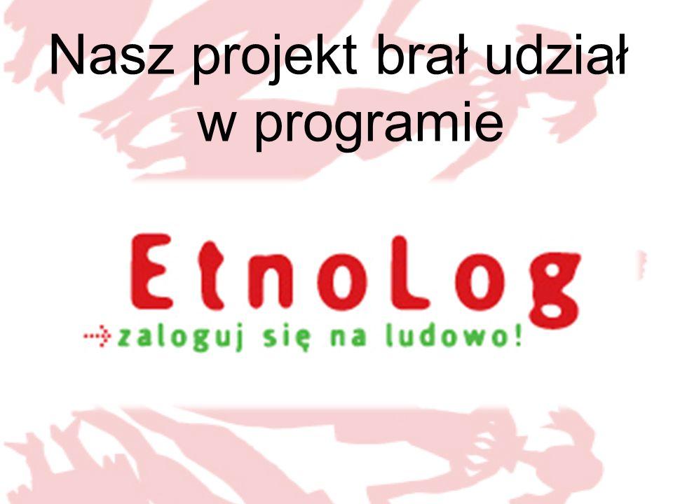 Nasz projekt brał udział w programie