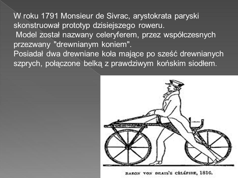 Wyposażenie roweru.