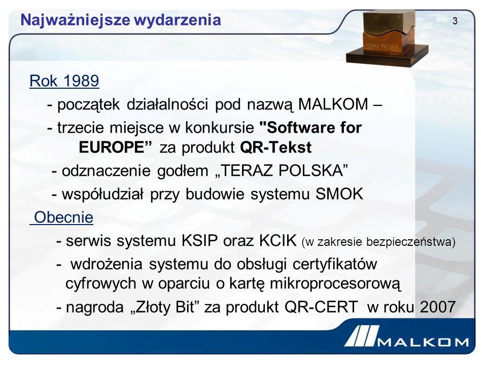 Referencje Polskie służby mundurowe Ministerstwo Finansów Instytut Meteorologii i Gospodarki Wodnej Państwowy Fundusz Rehabilitacji Osób Niepełnosprawnych Urząd Ochrony Konkurencji i Konsumentów ALLIANZ, GENERALI, GERLING 4