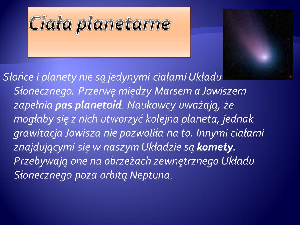 Słońce i planety nie są jedynymi ciałami Układu Słonecznego. Przerwę między Marsem a Jowiszem zapełnia pas planetoid. Naukowcy uważają, że mogłaby się