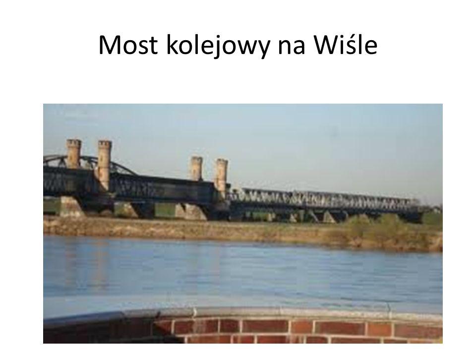 Most kolejowy na Wiśle