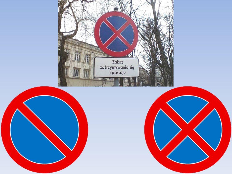 Gdzie nie wolno sie zatrzymać? Zatrzymanie pojazdu może być zakazane odpowiednim znakiem drogowym. na przejeździe kolejowym, na przejeździe tramwajowy