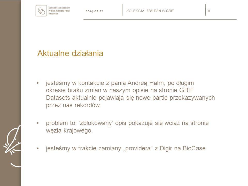 Przebudowa zespołu odpowiedzialnego za działanie sieci KSIB w Zakładzie Mgr inż.