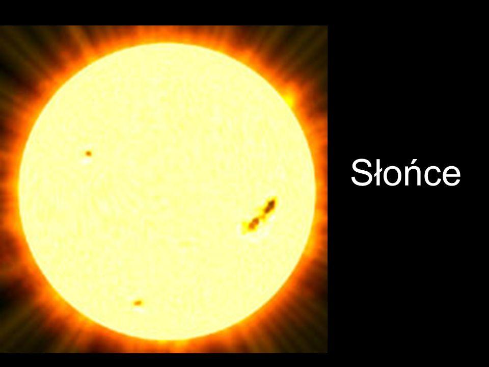 Słońce to gwiazda centralna Układu Słonecznego, wokół której krąży Ziemia oraz inne planety.