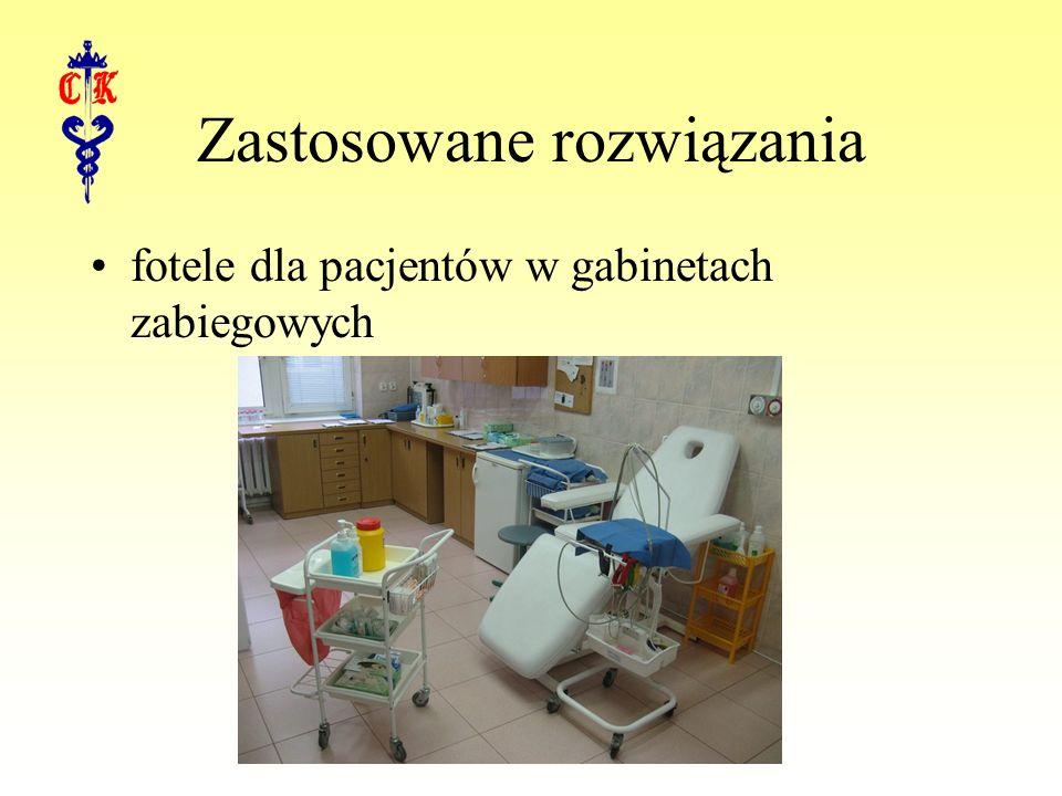 Zastosowane rozwiązania fotele dla pacjentów w gabinetach zabiegowych