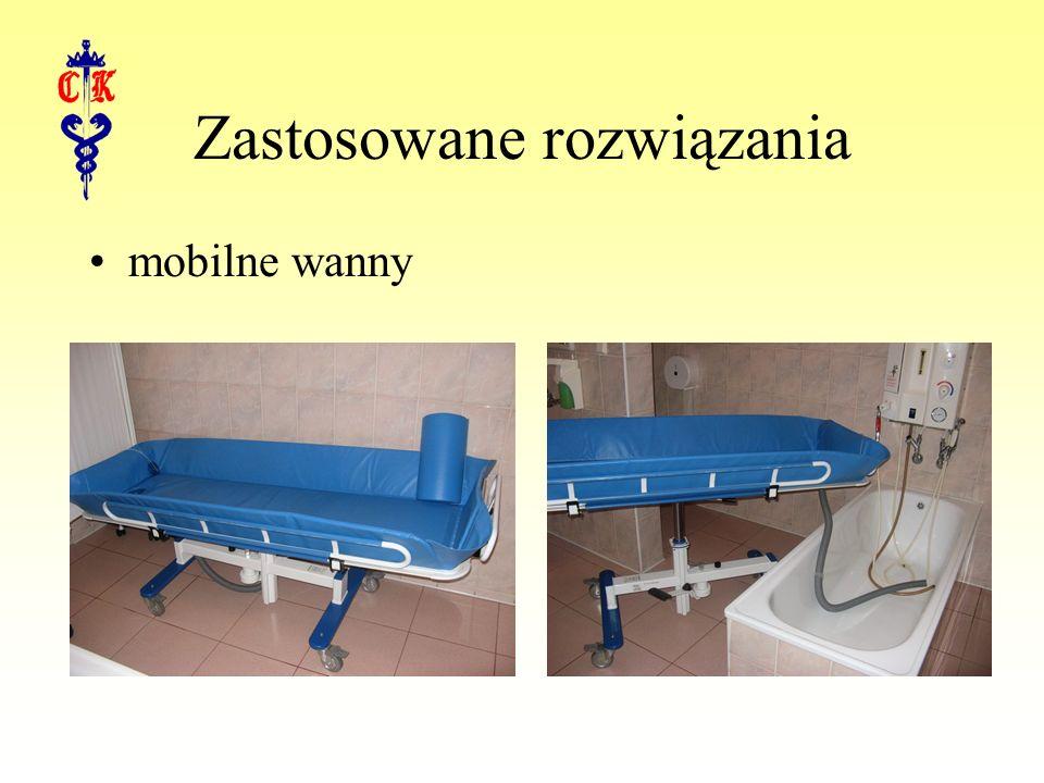 Zastosowane rozwiązania mobilne wanny
