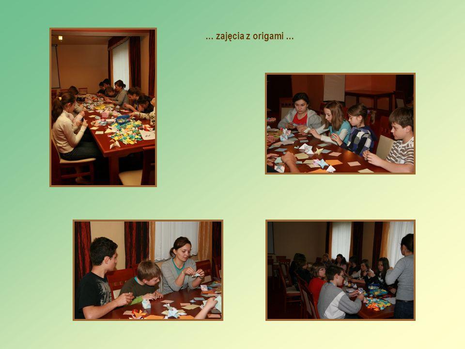 … zajęcia z origami …