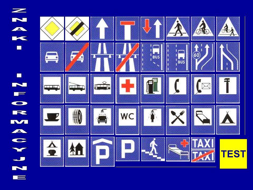 WYBIERZ PRAWIDŁOWY ZNAK Parking zadaszony