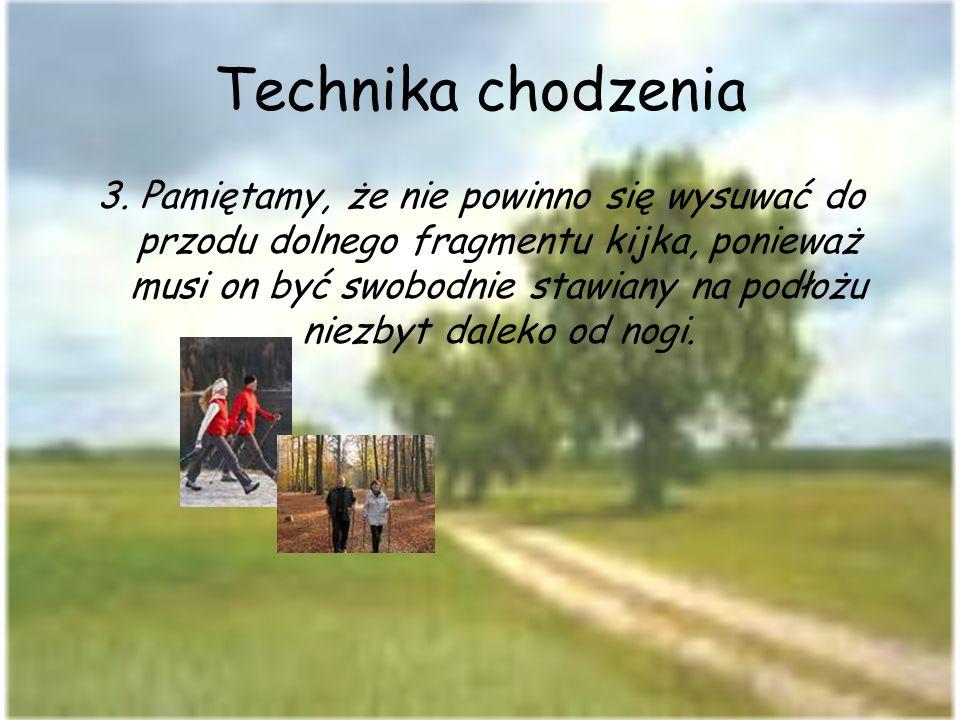 Technika chodzenia 4.